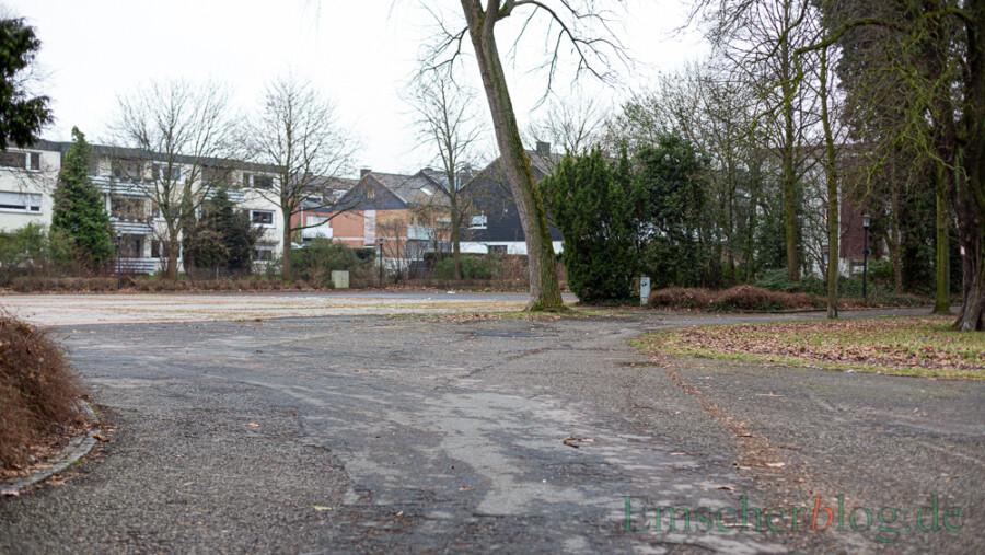 Dieser Bereich des Fest- und Alleeplatzes soll städtebaulich und ökologisch umgestaltet werden. Die CDU will diesen Beschluss nun aufheben lassen. (Foto: P. Gräber - Emscherblog)