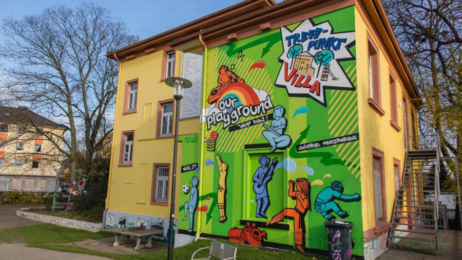 Der Treffpunkt Villa öffnet am kommenden Montag (25. Mai) wieder - zunächst mit eingeschränktem Programm. (Foto: P. Gräber - Emscherblog)