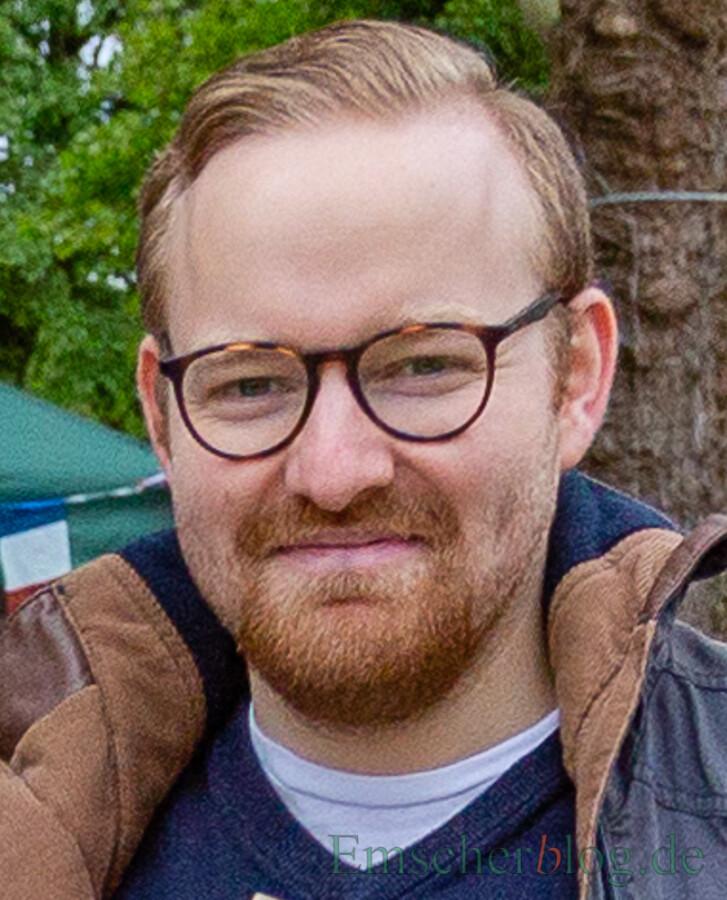Vorsitzender des Ortsjugendringes Holzwickede: Jonas Beckmann. (Foto: P. Gräber - Emscherblog)