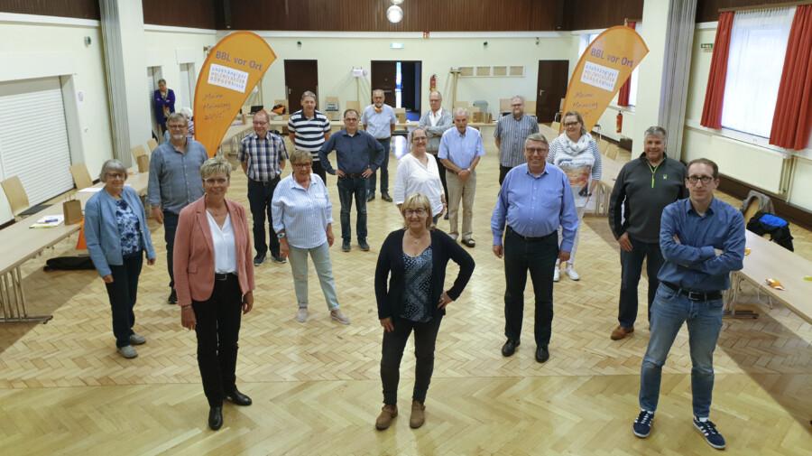 Das Team um Spitzenkandidatin Ulrike Drossel, mit dem der Bürgerblock zur Kommunalwahl im Herbst antreten will. (Foto: BBL)