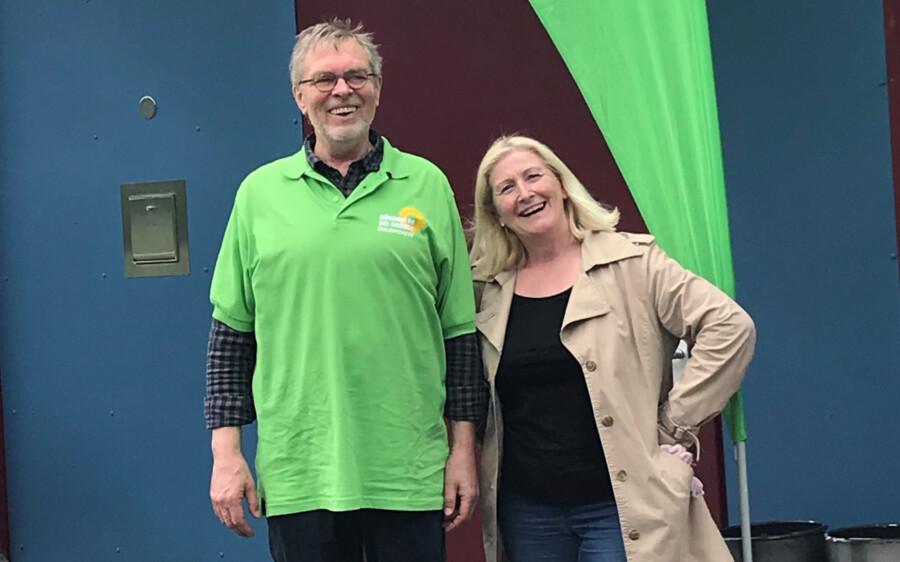 Hans-Ulrich Bangert und Susanne Werbinsky sind auf Platz 8 und Platz 21 der Liste der Kreisvertreter des Kreisverbandes der Grünen Unna gewählt worden. (Foto: privat)