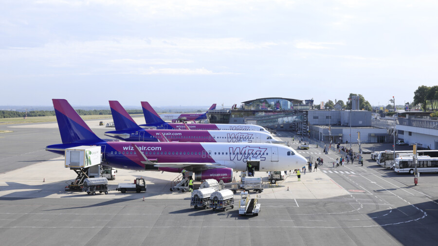 Die Wizz Air stationiert drei Airbus A320 am Dortmund Airport, teilte das Unternehmen heute mit. (Foto: Hans Juergen Landes)