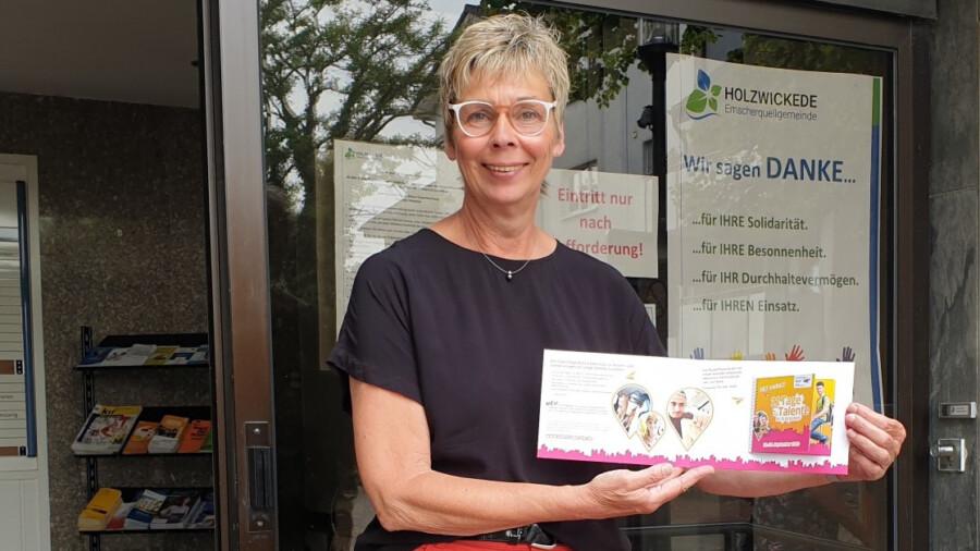 Auch Bürgermeisterin Ulrike Drossel wirbt für die Teilnahme an den kostenlosen Angeboten der TalentTage Ruhr. (Foto: Gemeinde Holzwickede)
