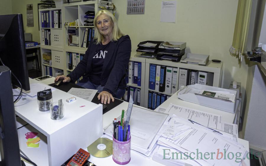 Bietet gemeinsam mit der Athera-Gruppe in Unna orthopädischen Reha-Sport an: HSC-Abteilungsleiterin Susanne Werbinsky. (Foto: P. Gräber - Emscherblog)