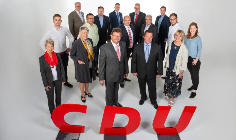 """Unter dem Motto: """"Wir können Ihnen viel erzählen - hier können Sie uns kennenlernen!"""" suchen die Christdemokraten das persönliche Gespräch mit den Holzwickder Bürgern. (Foto: CDU Holzwickede)"""