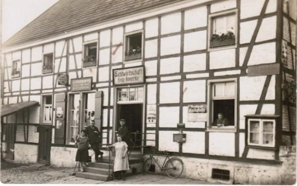Die Gastwirtschaft Gödecke (später Sängerklause) an der Schwerter Straße. (Foto: Archiv)