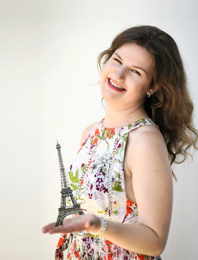 """Nina Dahlmann spielt mit ihrem Quintett """"I love Paris"""" beim 1. Picknick-Konzert des Freundeskreises. (Foto: Freundeskreis)"""