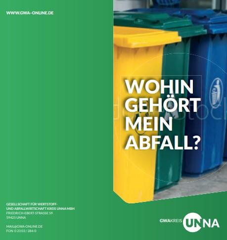 Auch in Coronazeiten ist Abfalltrennung wichtig. (Grafik: GWA)