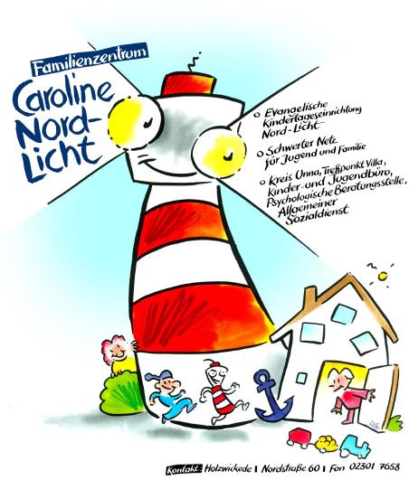 Logo Kita Caroline-Nordlicht