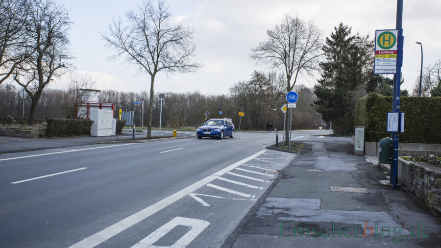 Landweg / Haupt- und Massener Straße: Ab wann ist eine Kreuzung gefährlich?