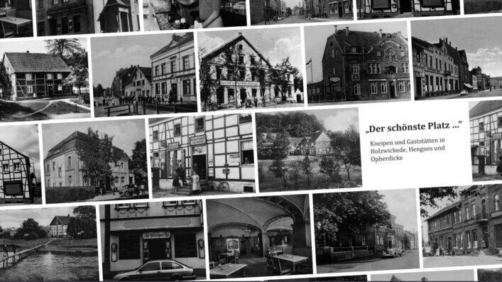 """Das Coverbild des Kneipen-Buchs """"Der schönste Platz..."""", das in Kürze erscheint. (Quelle: Historischer Verein)"""