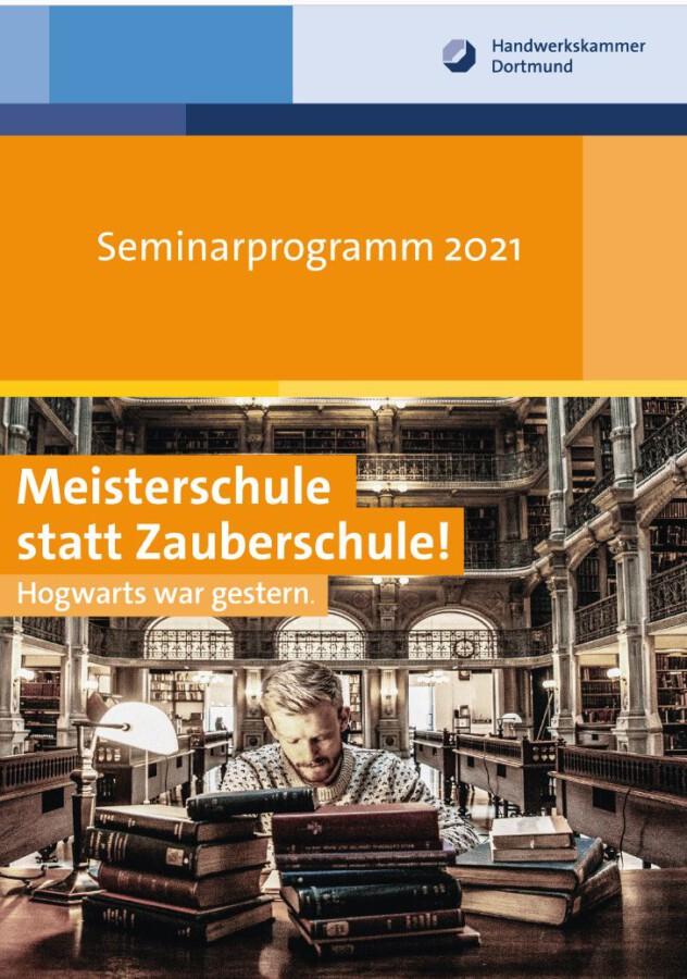 Seminarprogramm 2021 der HWK.