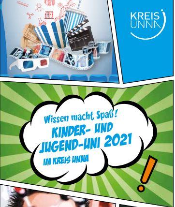 Die ersten Kinder-Unis im neuen Jahr finden digital statt. teilnehmen können die Kinder via Zoom.: der Flyer zur Kinder-Uni.