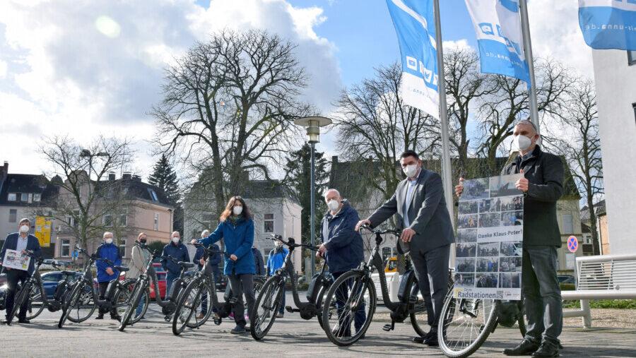 Kreis erweitert E-Bike-Flotte in Radstationen: 80 neue E-Bikes für Alltag und Freizeit