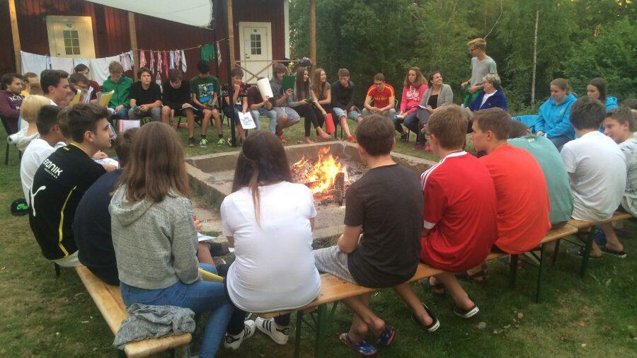 Freizeiten, wie hier in Schweden, sind nur ein Teil der Offenen Jugendarbeit der Ev. Jugend. Die Angebote der freien Jugendarbeit auch anderer Träger sind vielfältig. (Foto: privat)