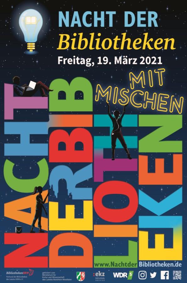 Mitmischen: Flyer zur Nacht der Bibliotheken. (Foto: nachtderbibliotheken.de)