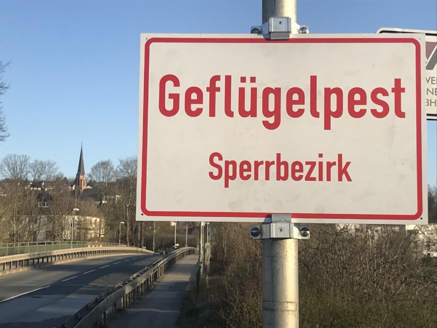 Der Geflügelpest-Sperrbezirk, der auch Bereiche von Fröndenberg/Ruhr betrifft, wird am Freitag, 30. April, aufgehoben. (Foto: Birgit Kalle – Kreis Unna)