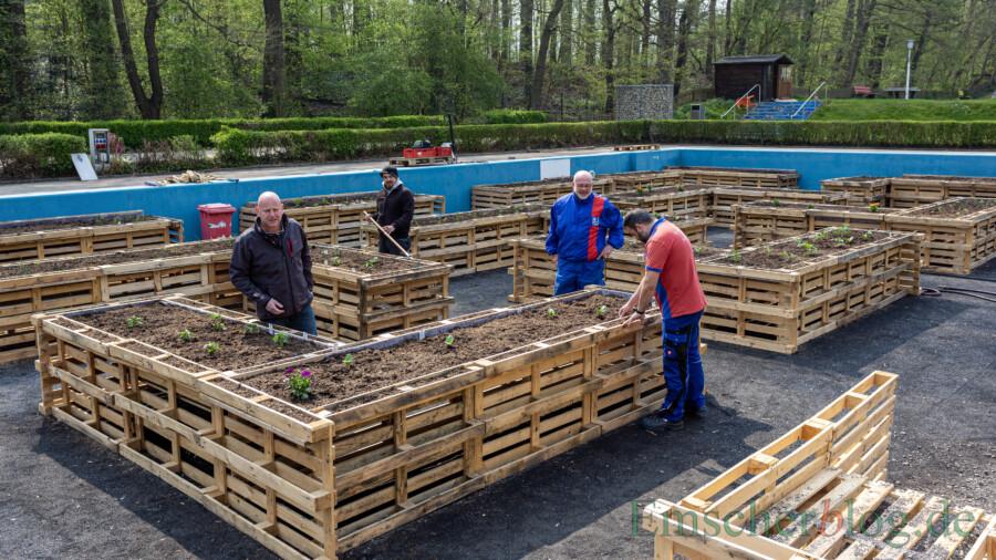Vorbereitungen fast abgeschlossen: Grüne Oase und Neuerungen wecken Vorfreude auf Badesaison