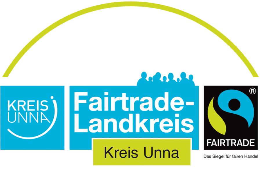 Das Logo Faitrade Kreis Unna.