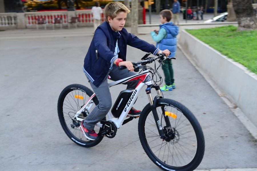 """Die Gemeinde soll ein Kontingent E-Bikes für Schüler anschaffen, damit diese nicht mehr so häufig mit dem """"Elterntaxi""""  ins Schulzentrum gebracht werden, fordert die FDP.  (Symbolfoto: Pixabay.de)"""