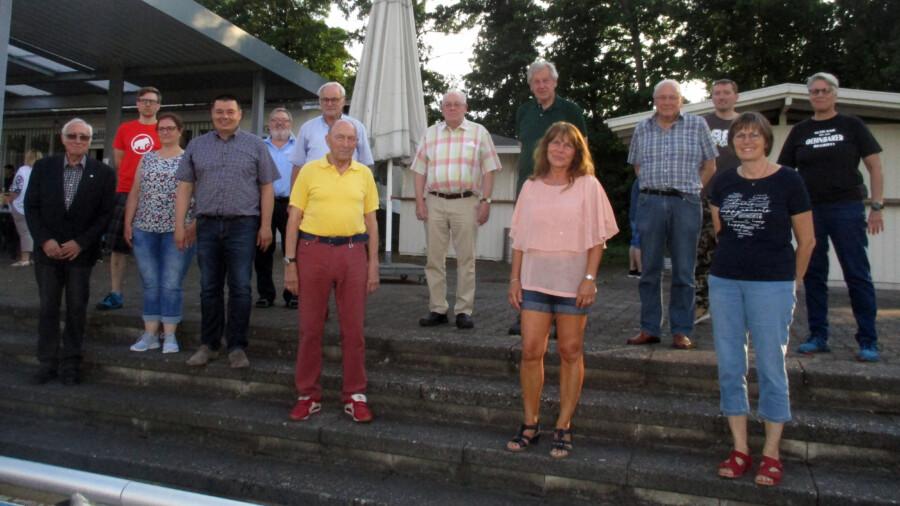 Die TGH ehrte am Montagabend im Rahmen der Jahreshauptversammlung auch zahlreiche Jubilare. (Foto: privat)