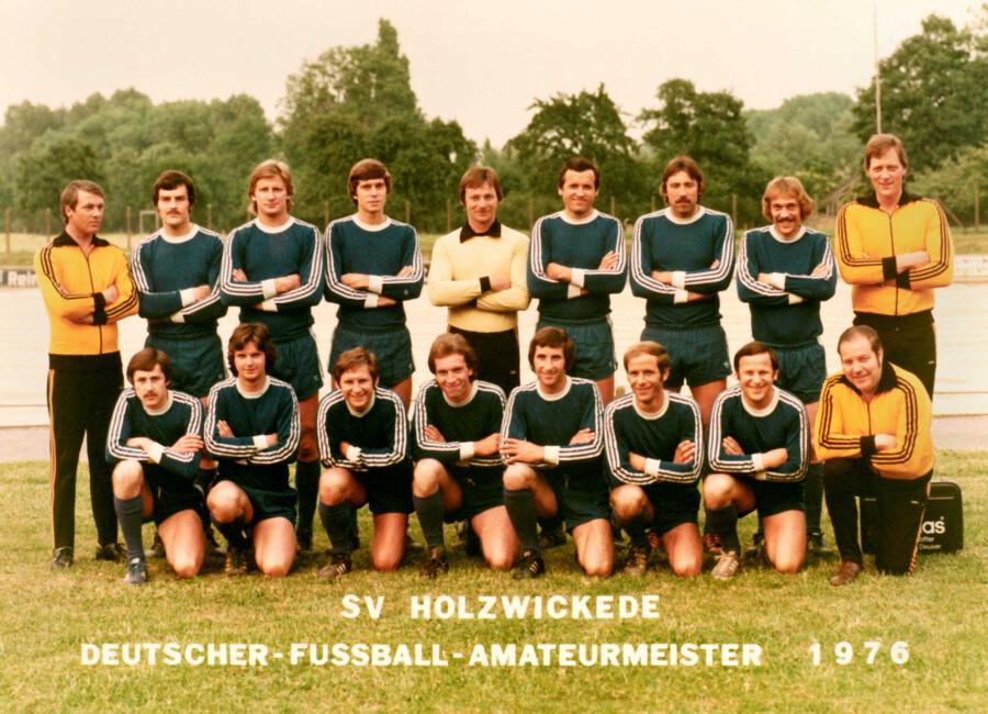 Mit einem 1 : 0-Erfolg gegen Oli Bürstadt gewann die Spielvereinigung Holzwickede am 27. Juni 1976 die Deutsche Amateurmeisterschaft. (Foto: Archiv)