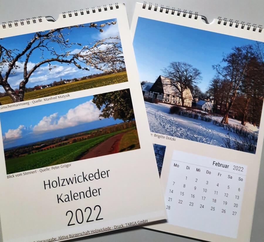 """Der neue Jahreskalender der Aktiven Bürgerschaft unter dem Motto """"Lauschige Orte in Holzwickede"""" ist ab sofort erhältlich. (Foto: Gemeinde Holzwickede)"""