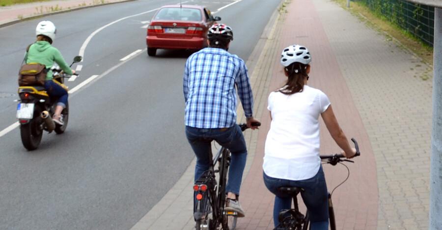 Wo viele Verkehrsteilnehmer aufeinandertreffen muss Rücksicht genommen werden. (Foto: Birgit Kalle - Kreis Unna)