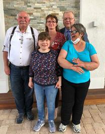Der Vorstand des BSV Kreis Unna, v.l.: Heinz Detlef Klafke, Christine Osterkemper, Sibylle Hermann, Frank Vehlow, Dagmar Gnida. (Foto: privat)