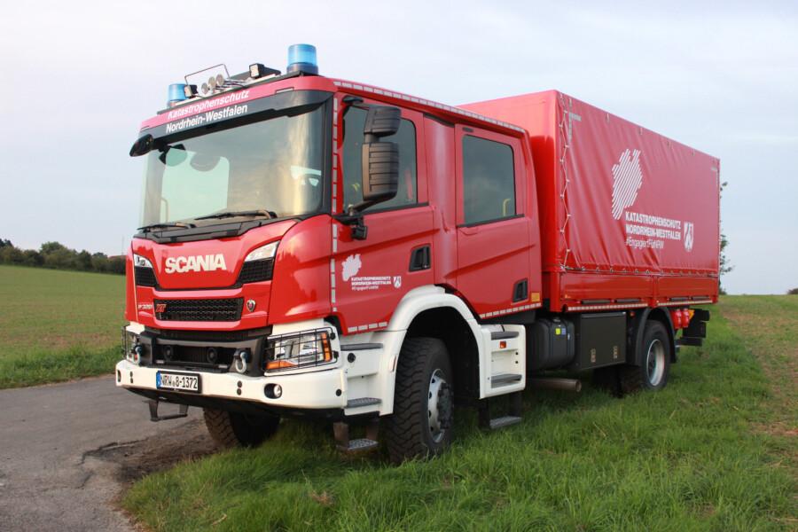 Das neue Transportfahrzeug der Holzwickeder Feuerwehr für den Einsatz beim Katastrophenschutz. (Foto: Feuerwehr Holzwickede)