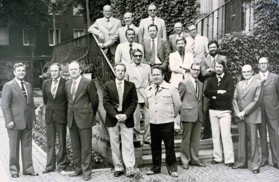 Die CDU-Fraktion Holzwickede Anfang der 1970er-Jahre. (Foto: CDU Archiv)