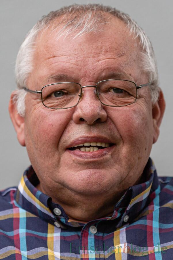 Vorsitzender Verein Begegnungsstätte Seniorentreff: Claus Richter. (Foto: P. Gräber)