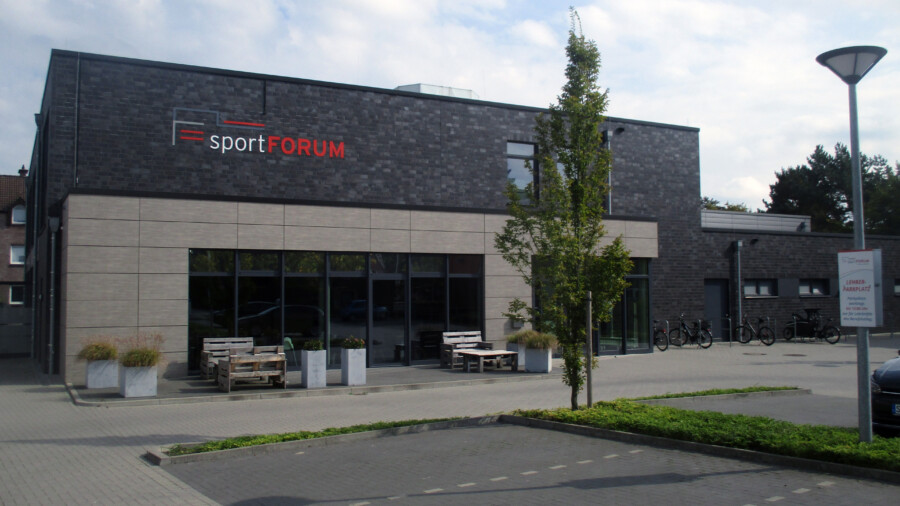 Vorbild für die HSC-Veranstwortlichen ist das Sportforum des TV Jahn Rheine. (Foto: privat)